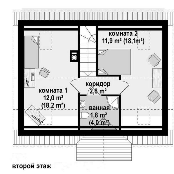 бетонных лестниц проект бюджетного дома с мансардой рейтинг Объем