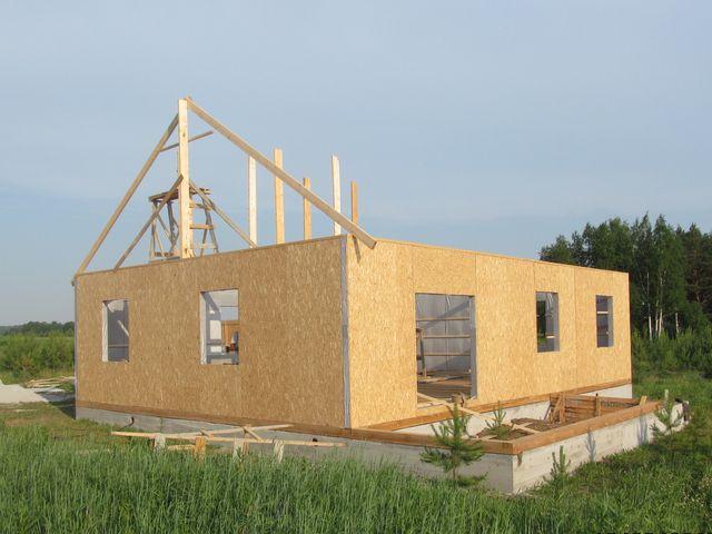 Каркасный дом отчет о строительстве