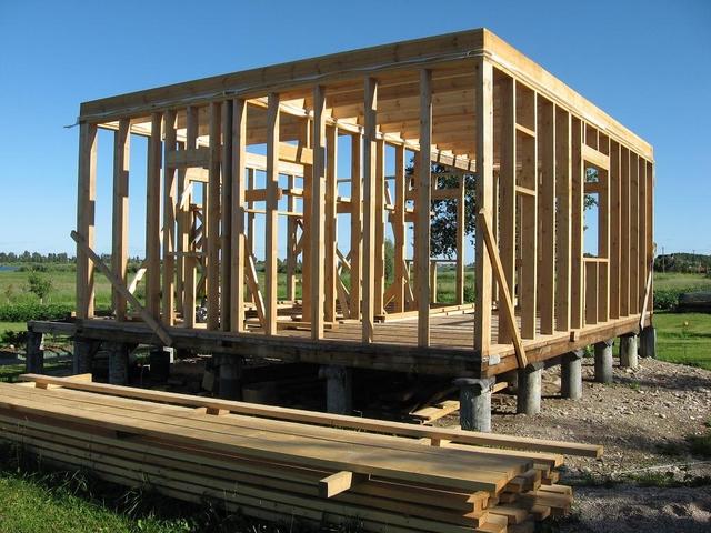 Как построить финский дом своими руками