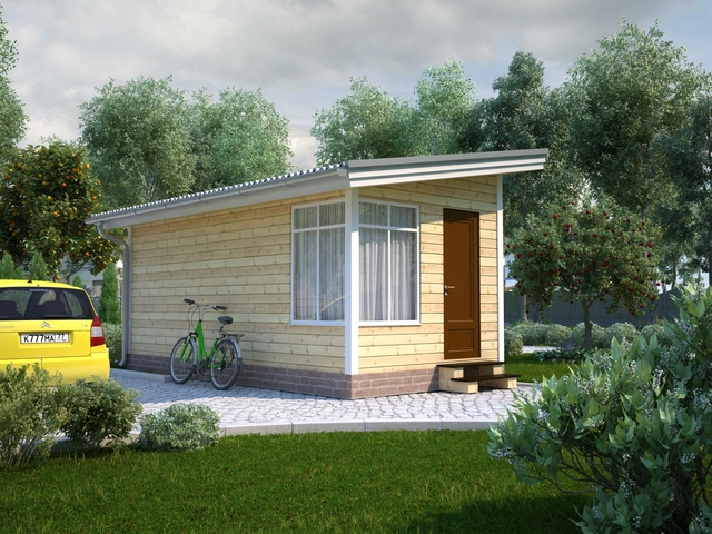 Катюша — летний садовый домик — павильон
