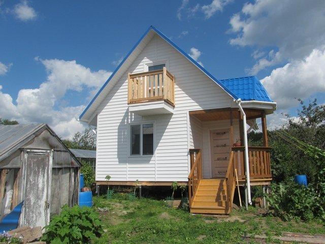 Садовый мини дом из домокмоплекта