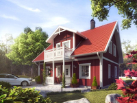 Строительство каркасного дома под ключ недорого