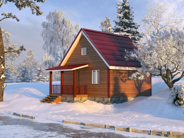 мини дача проекты финские: